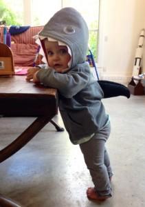 Baby Shark Costume Photos
