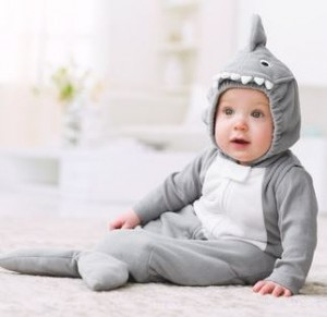 Baby in Shark Costume
