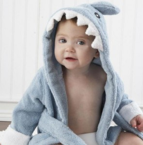Baby in a Shark Costume