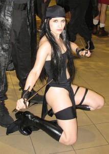 Elektra Costume Black