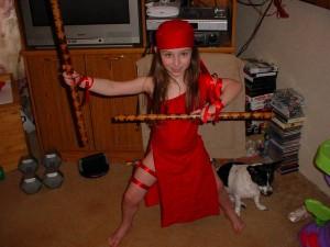 Elektra Costume for Kids