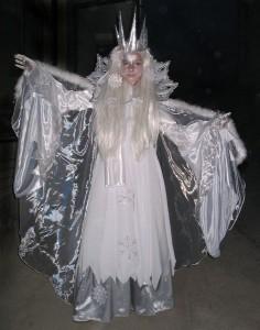 Ice Queen Costume Photos