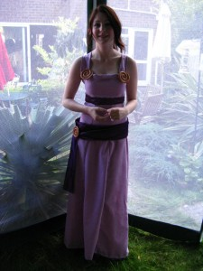 Megara Costume Photos