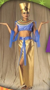 Nefertiti Costume Headpiece