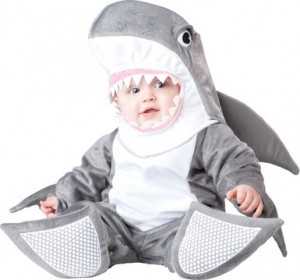Shark Baby Costume