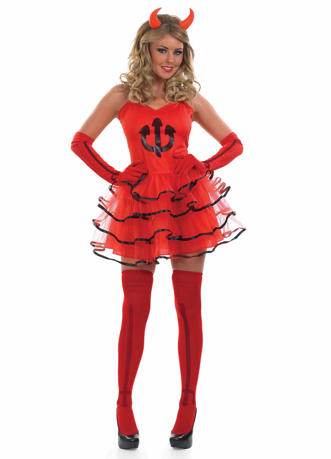 Devil Costume For Kids Girls