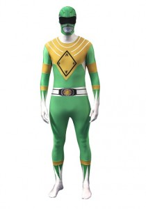 Adult Green Power Ranger Costume