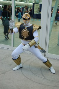 Adult White Power Ranger Costume