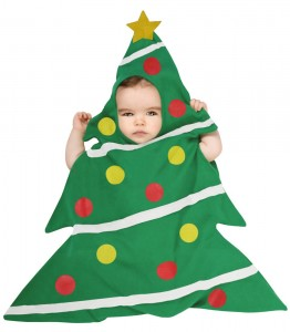 Baby Christmas Tree Costumes