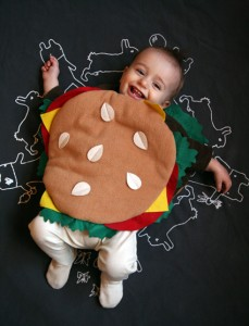 Baby Hamburger Costume