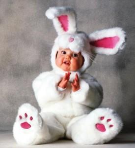 Baby White Rabbit Costume