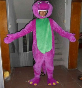 Barney Costumes for Adults