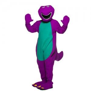 Barney Halloween Costume