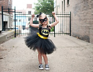 Batgirl Costume with Tutu