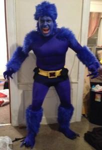 Beast X-Men Costume