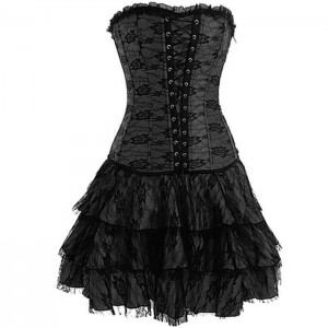 Black Corset Costume