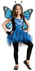 Blue Butterfly Wings Costume