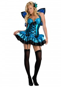 Blue Butterfly Wings Costumes
