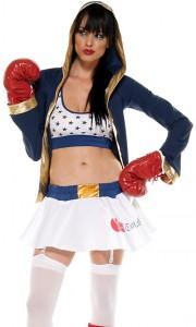 Boxer Costume Womens