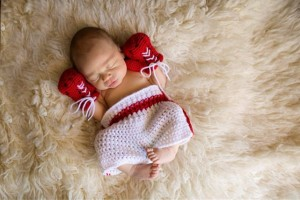 Boxer Costume for Baby