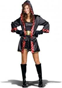 Boxer Costume for Womens