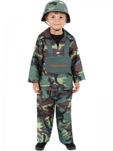 Boys Soldier Costume