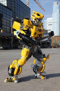Bumblebee Costume Transformers