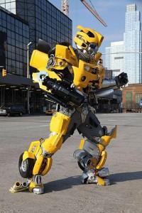 Bumblebee Costume Transformers