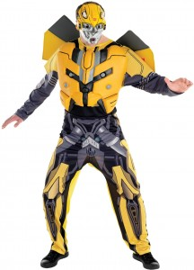 Bumblebee Transformer Costume Adults