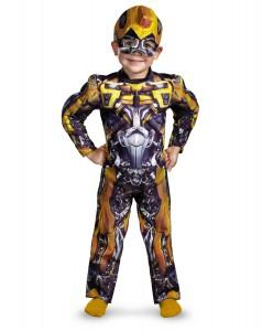 Bumblebee Transformer Costume for Kids