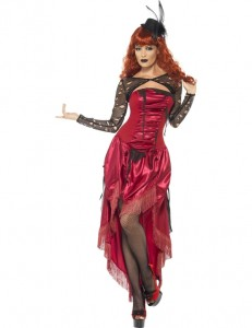 Burlesque Halloween Costume