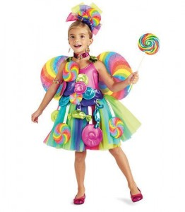 Candyland Costumes for Toddlers