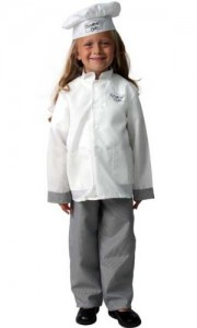 Chef Costume for Girls