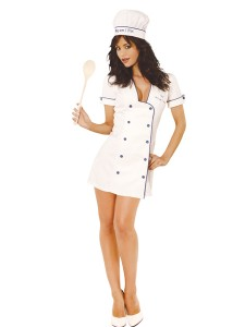 Chef Costume for Womens