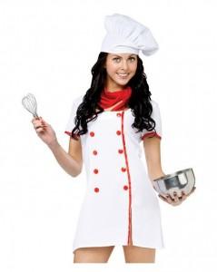 Chef Women Costume