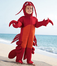 Child Lobster Costume