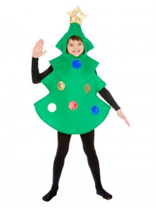 Christmas Tree Costume Kids