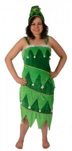 Christmas Tree Costume Women
