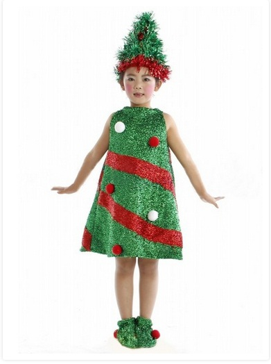 Christmas Tree Costumes For Men Women Kids