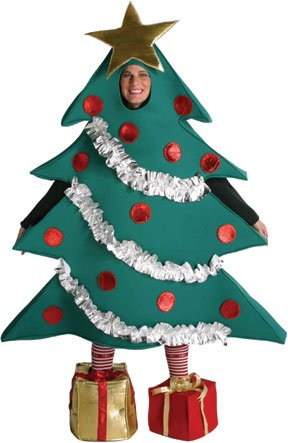 Christmas tree costumes for men women kids parties costume christmas tree costume solutioingenieria Image collections