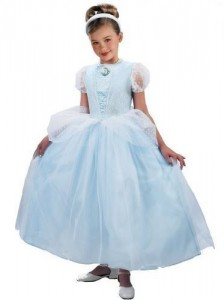 Cinderella Costume Girl