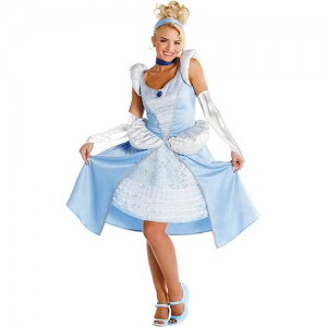 Cinderella Halloween Costume Adults