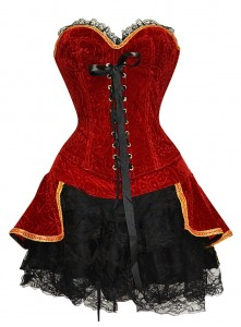 Corset Dress Costume