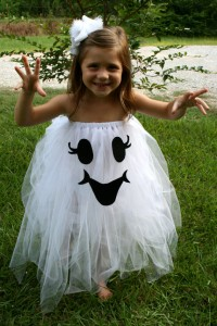 Cute Toddler Ghost Costume