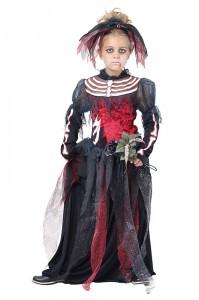 Dead Bride Costume for Girls