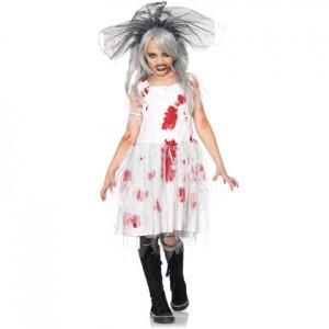 Dead Bride Costume for Kids