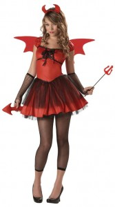 Devil Costume Women