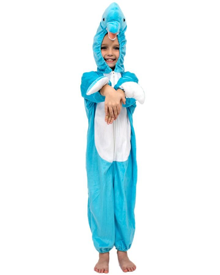 Kids Dolphin Costume Pattern