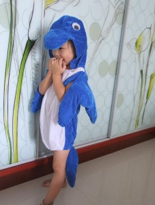 Dolphin Costume Pattern