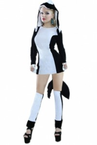 Dolphin Girl Costume